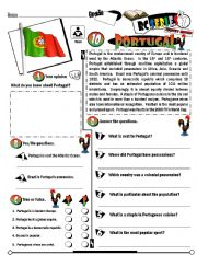 English Worksheet: RC Series_Level 01_Country Edition 10 Portugal (Fully Editable + Key)