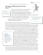 English Worksheets: Document Based Questions - Spartan Discipline