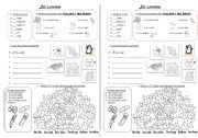 English Worksheets: What is it? and more exercises