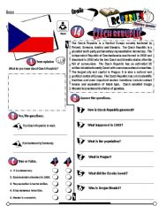 English Worksheet: RC Series_Level 01_Country Edition 14 Czech Republic