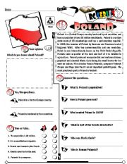 English Worksheet: RC Series_Level 01_Country Edition 13 Poland (Fully Editable + Key)