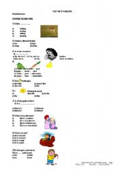 English Worksheets: GRADE 5
