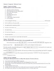 English worksheet: Robinson Crusoe