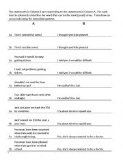English sentence pattern exercises