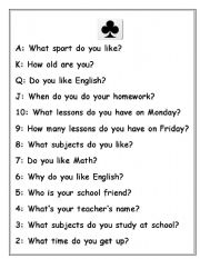 English Worksheets: Questions for kids