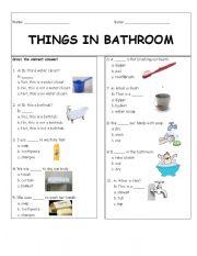 Things In Bathroom
