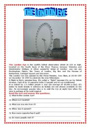 Postcard from London: the London Eye