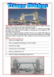 Postcards from London: Tower Bridge