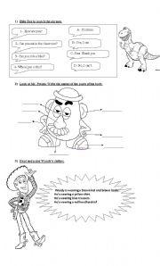 English Worksheet: Toy Story 2