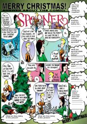 English Worksheets: COMIC - SPOONER