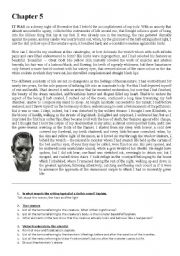 English Worksheet: Frankenstein (Mary Shelley)