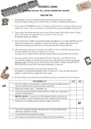 English Worksheets: SHOW & TELL ACTIVITY