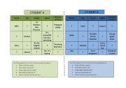English Worksheet: Name/job/workplace pair work