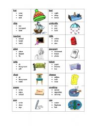 English Worksheets: Taboo 1 (1/8)