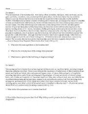 English Worksheet: Mesopotamian food DBQ