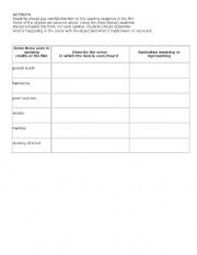 English Worksheets: To Kill a Mockingbird