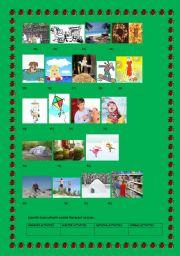 English Worksheets: part 3 seasonal activities