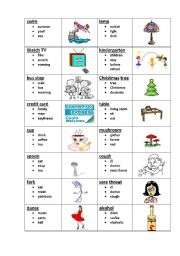 English Worksheet: Taboo 5 (5/8)
