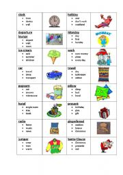 English Worksheets: Taboo 6 (6/8)