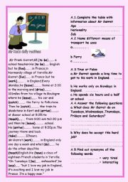 Mr ken´s daily routines