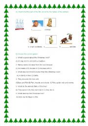 Ice Age: a Mammoth Christmas part 1