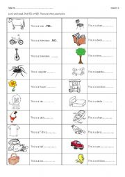 English Worksheets: This is...