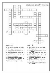 school staff puzzle