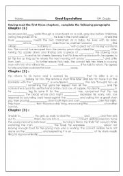 English Worksheets: Graet Expectations