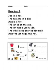 Printables Reading Phonics Worksheets english teaching worksheets phonics reading 4
