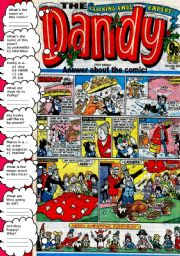English Worksheets: COMIC - THE CRACKING X-MAS  CAPERS.