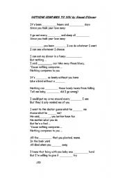 English Worksheets: if i saw you in heaven
