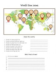 world time zones esl worksheet by pyata4ok. Black Bedroom Furniture Sets. Home Design Ideas