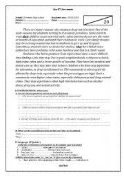 English Worksheets: English teacher