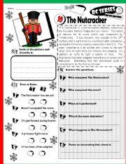 English worksheet: RC Series_HO HO Edition 10 The Nutcracker (Fully Editable + Key)
