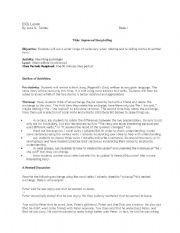 English Worksheets: ESOL Storytelling