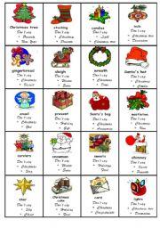 Taboo game Christmas