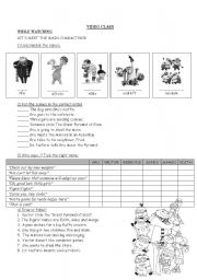 English Worksheets: Video class: Despicable Me