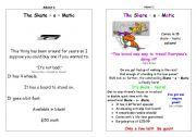 English Worksheets: The Skate-o0matic