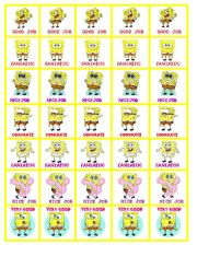 Sponge Bob motivation Stickers