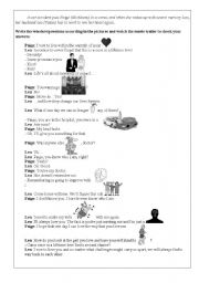English Worksheets: The Vow