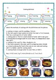 english teaching worksheets cooking. Black Bedroom Furniture Sets. Home Design Ideas