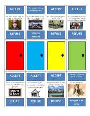 English Worksheet: Third Conditional Game