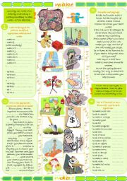 English Worksheets: Make vs do