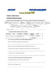 English Worksheet: love boat