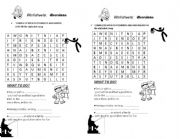English Worksheets: the diversion