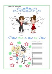 English Worksheet: Appearance / body parts