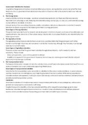 English Worksheets: business