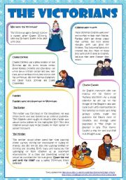 English Worksheets: The Victorians