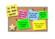 English Worksheets: Is this your best work?