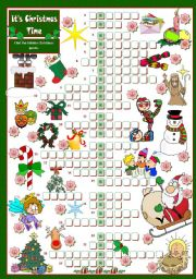 English Worksheets: It�s Christmas Time!